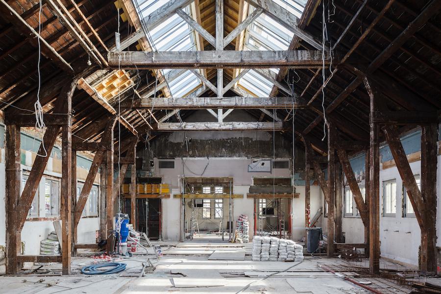 reportage de chantier pour eiffage universit s lyon lumi re aia architectes. Black Bedroom Furniture Sets. Home Design Ideas
